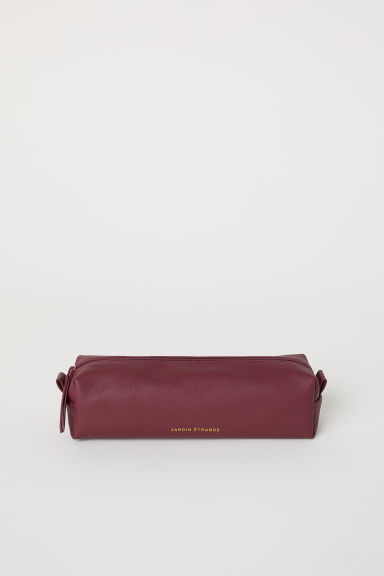 Pencil case - Burgundy - Ladies | H&M CN