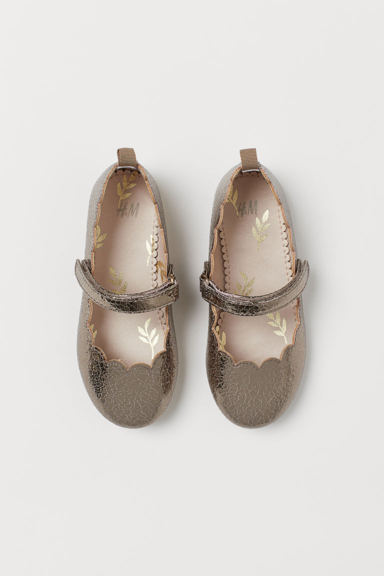 Ballet pumps - Gold-coloured - Kids | H&M