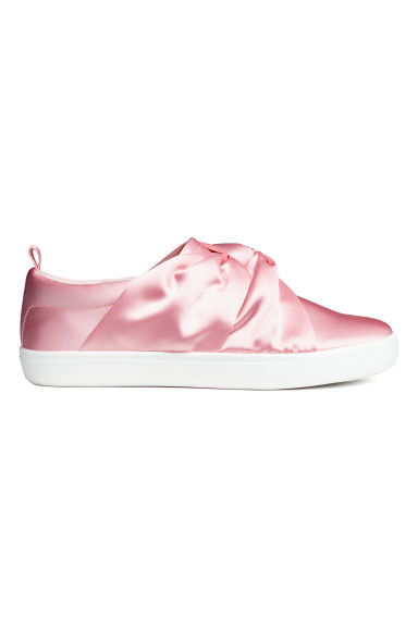 Knot-detail trainers - Light pink - Kids | H&M CN