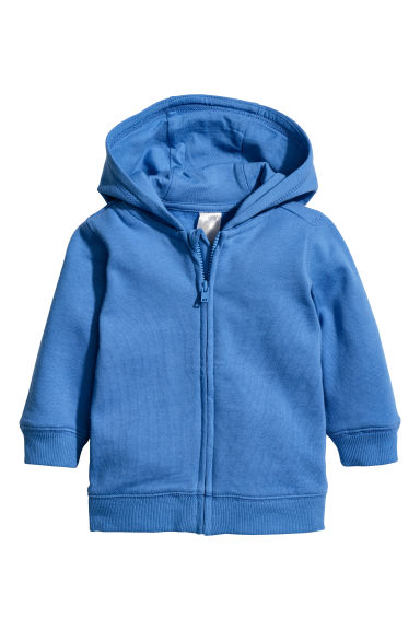 Hooded jacket - Bright blue -  | H&M CN