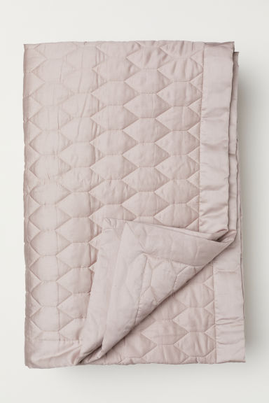 Quilted bedspread - Powder - Home All | H&M CN
