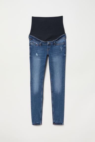 MAMA Skinny Jeans - Denimblauw/trashed - DAMES | H&M BE