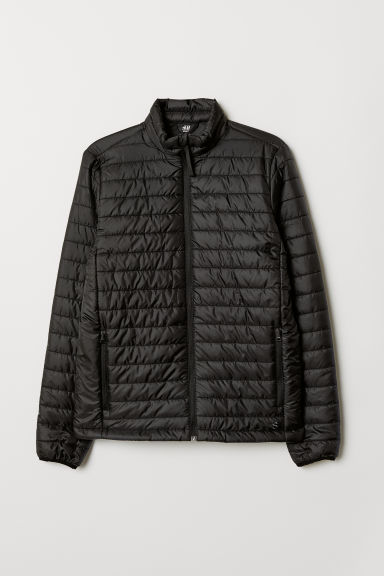 Padded outdoor jacket - Black - Men | H&M CN