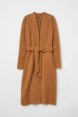 Kabát z vlnenej zmesi 6edefb2a321