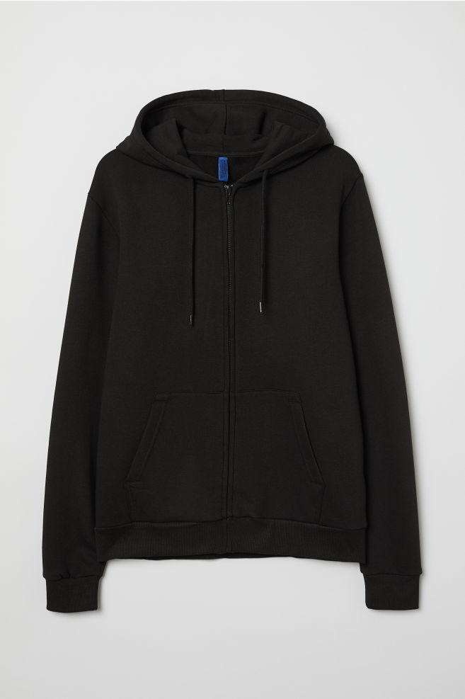 7bb984089 Hooded Jacket - Black - | H&M ...