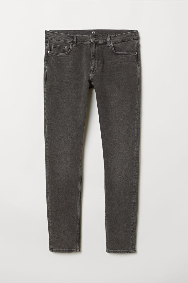 05052289367978 Super Skinny Jeans - Black washed out - Men   H&M ...