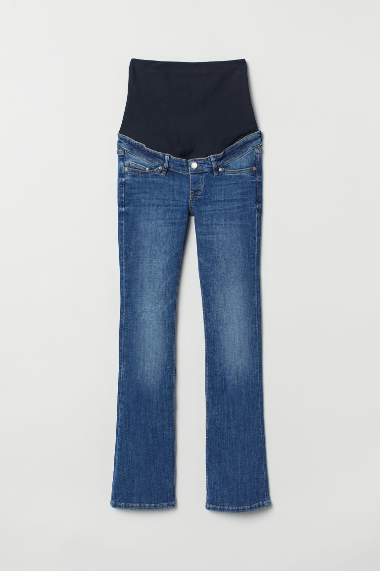 MAMA Bootcut Jeans - Denim blue - Ladies | H&M CN