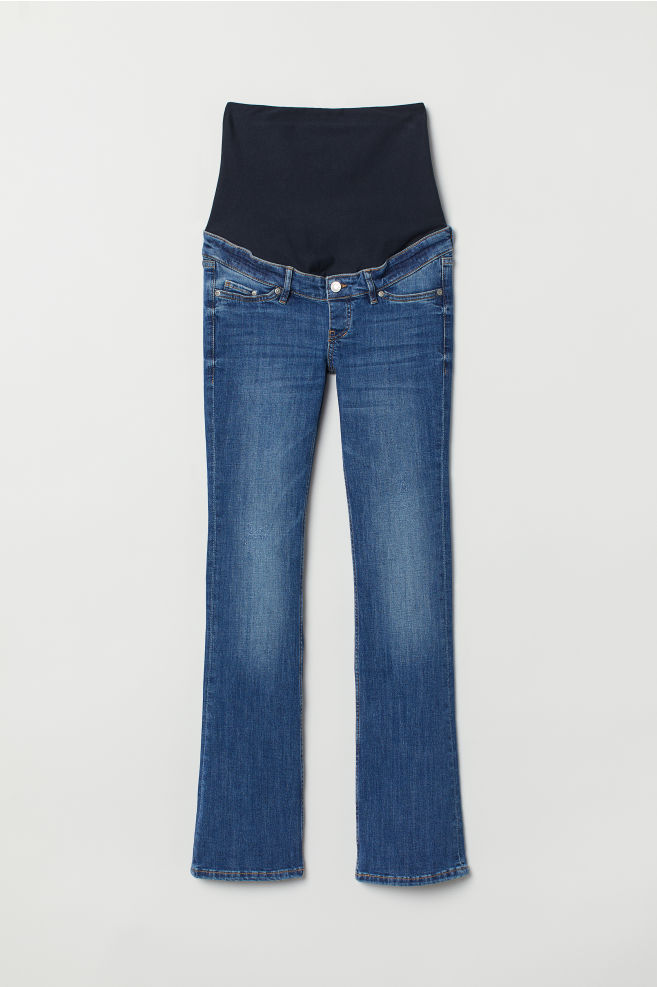 144569bee13 MAMA Bootcut Jeans - Denim blue - Ladies | H&M ...