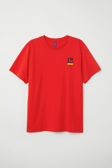 Printed T-shirt - Red/Spain - Men | H&M