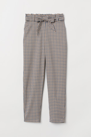 Pull-on cigarette trousers