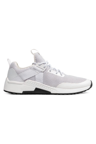 Mesh trainers - White - Men | H&M IE