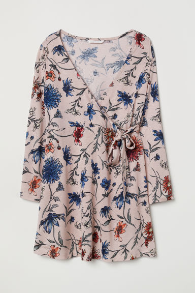 MAMA Top fantasia - Rosa cipria/fiori -  | H&M IT