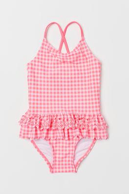 Badpak Maat 92.Zwemkleding Meisjes Mt 92 140 Shop Online H M Be