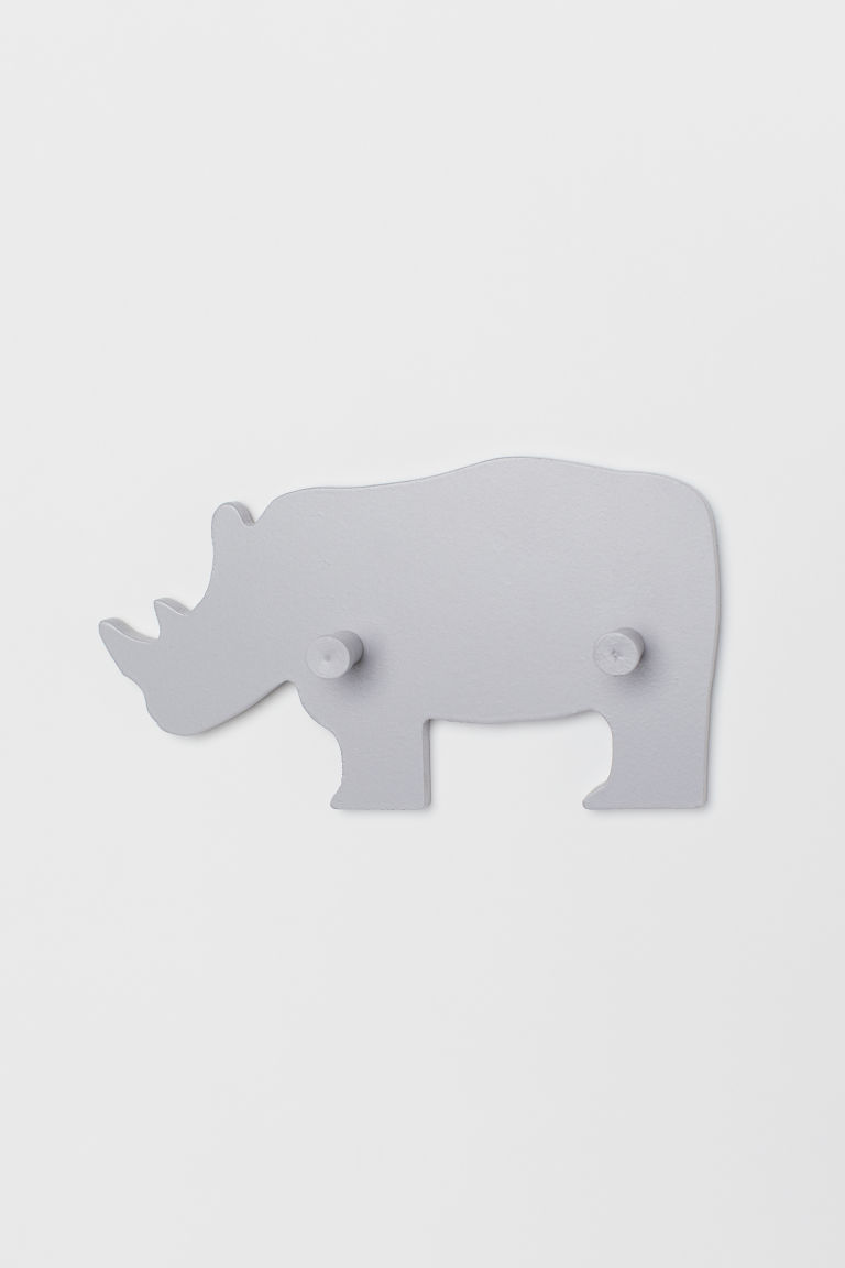 Wooden hanger - Light mole/Rhinoceros - Home All | H&M CN