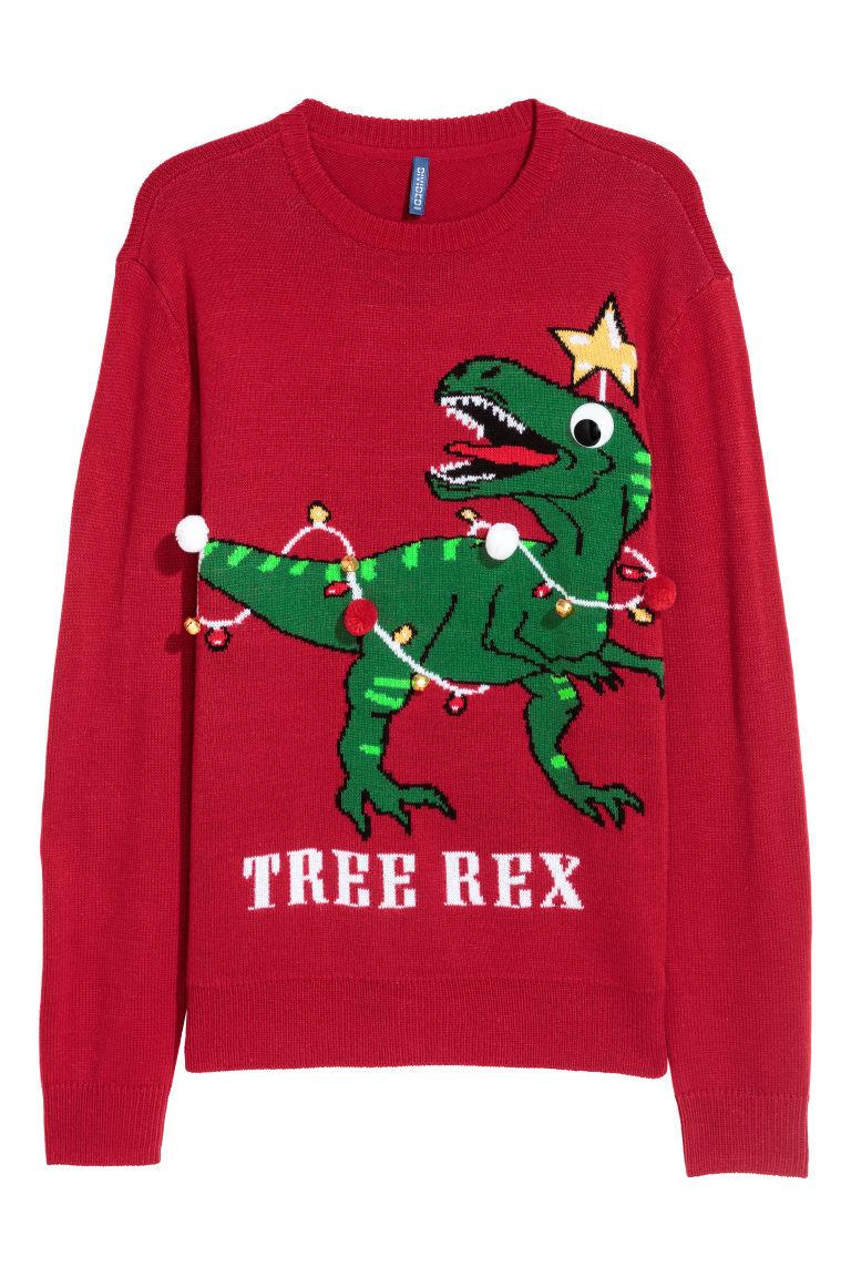 Christmas Sweater.Knit Christmas Sweater