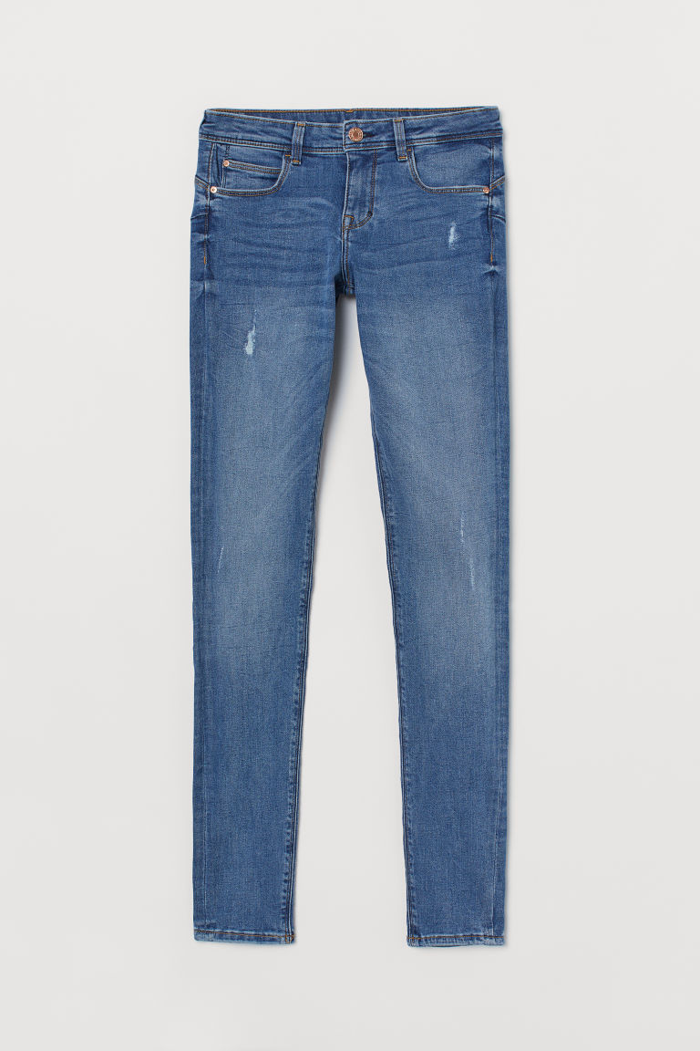 Jeggings push up vita bassa - Blu denim -  | H&M CH