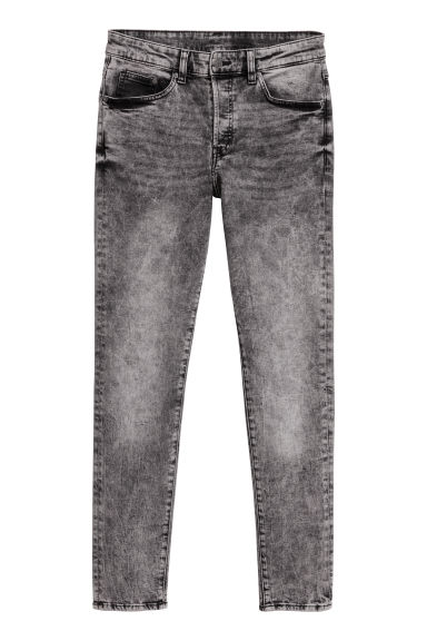 Skinny Jeans - Grijs/washed - HEREN | H&M BE