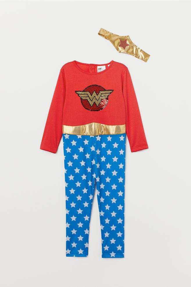 835f9d58cbab Disfraz de superhéroe - Rojo/Wonder Woman - | H&M ...