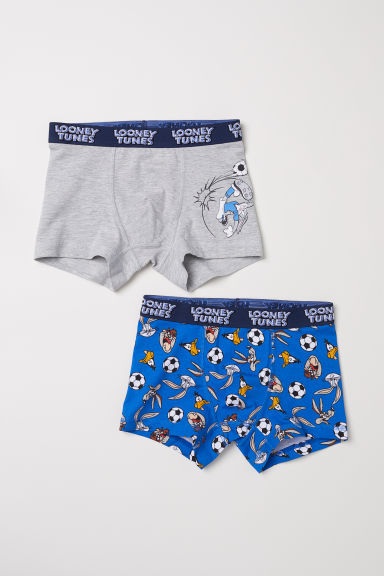 Boxer, 2 pz - Blu acceso/Looney Tunes -  | H&M IT