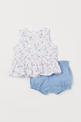 296ff02cf Baby Girl Clothes - Shop for your baby online | H&M US