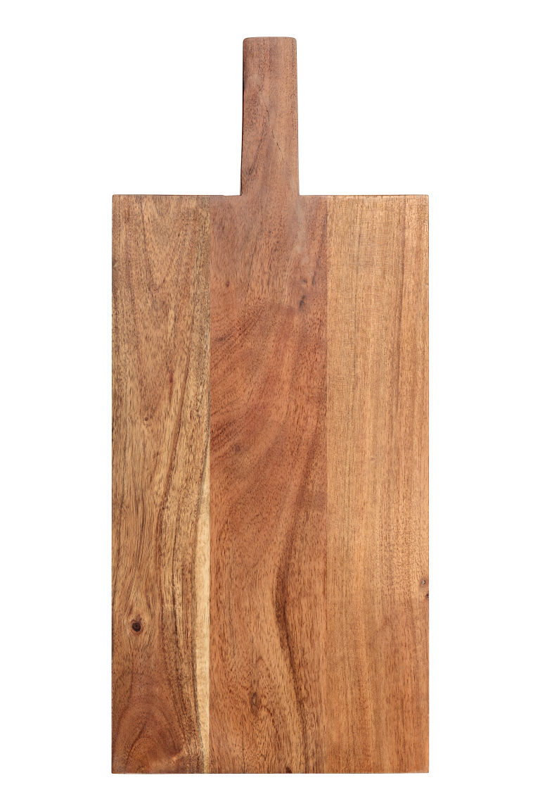 Wooden chopping board - Natural - Home All | H&M GB