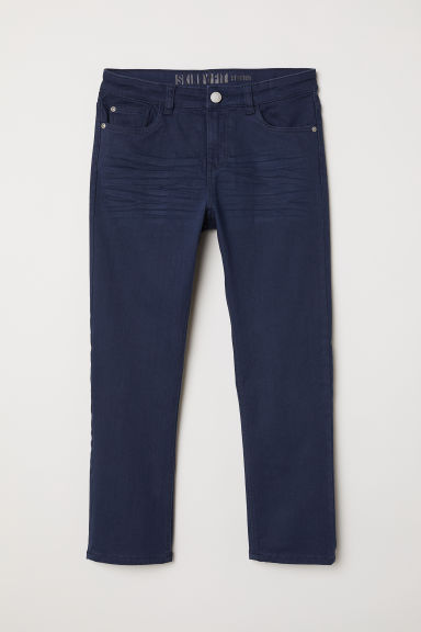 Generous Size Trousers - Dark blue - Kids | H&M CN