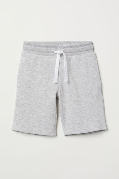 Sweatshirt shorts - Grey marl - Kids | H&M
