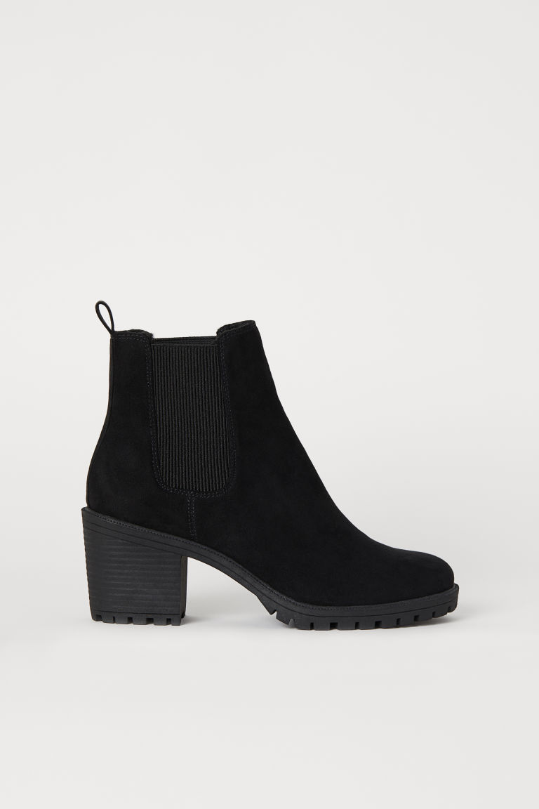Warm-lined Ankle Boots - Black - Ladies | H&M CA