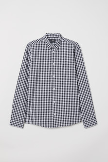 Skjorta i poplin Regular Fit
