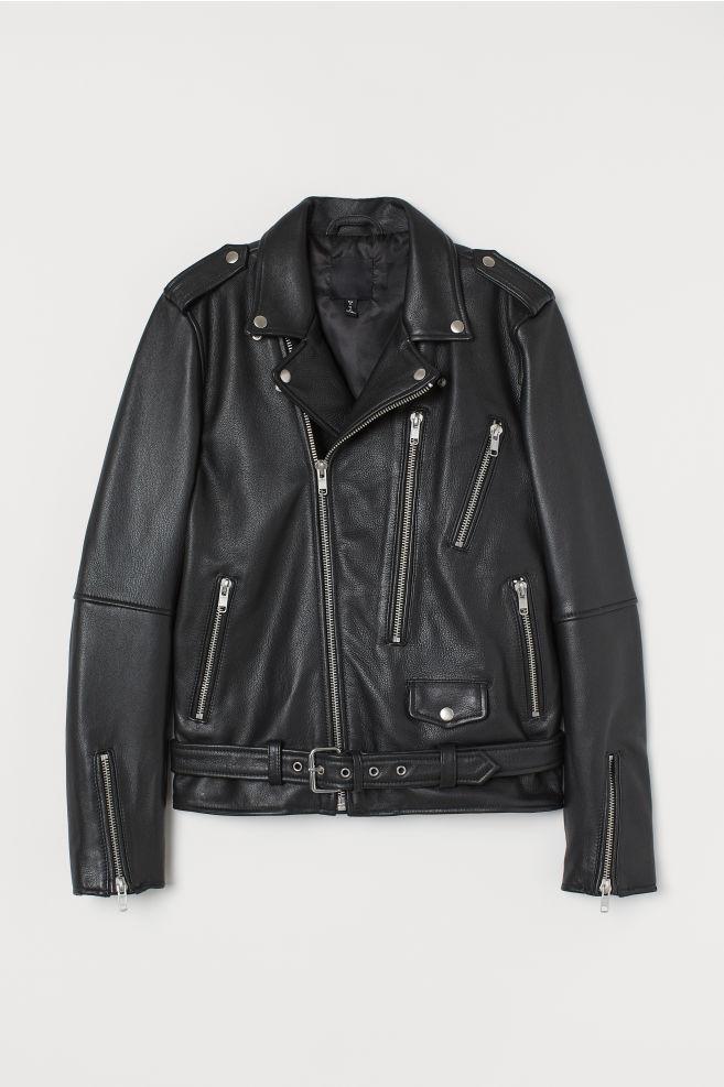 Neueste Mode 2019 Neupreis bestbewertet Bikerjacke aus Leder