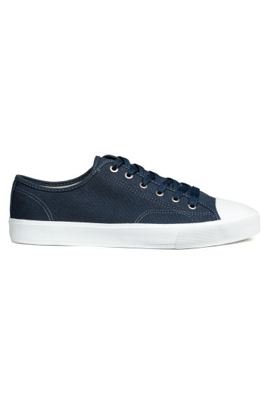Canvas shoes - Dark blue - Men | H&M