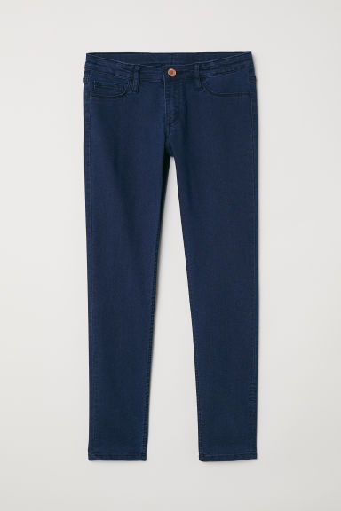 Skinny Fit Generous Size Jeans - Donkerblauw - KINDEREN | H&M NL