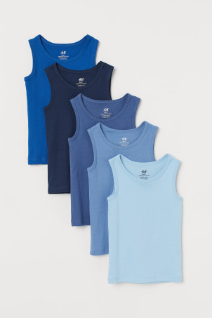 5-pack Cotton Tank Tops
