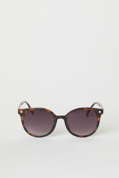 Sunglasses - Brown/Tortoiseshell-patterned - Ladies | H&M CN
