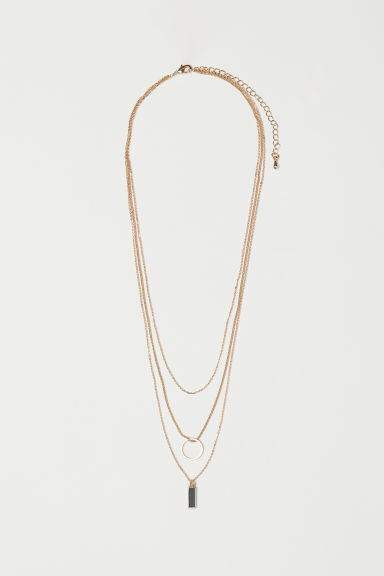 Collana a tre fili - Dorato - DONNA | H&M IT