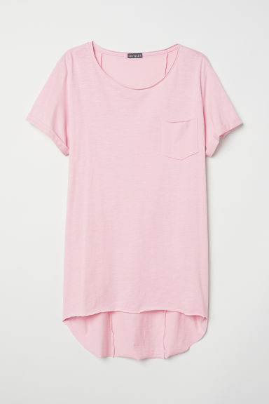Long T-shirt - Light pink - Men | H&M