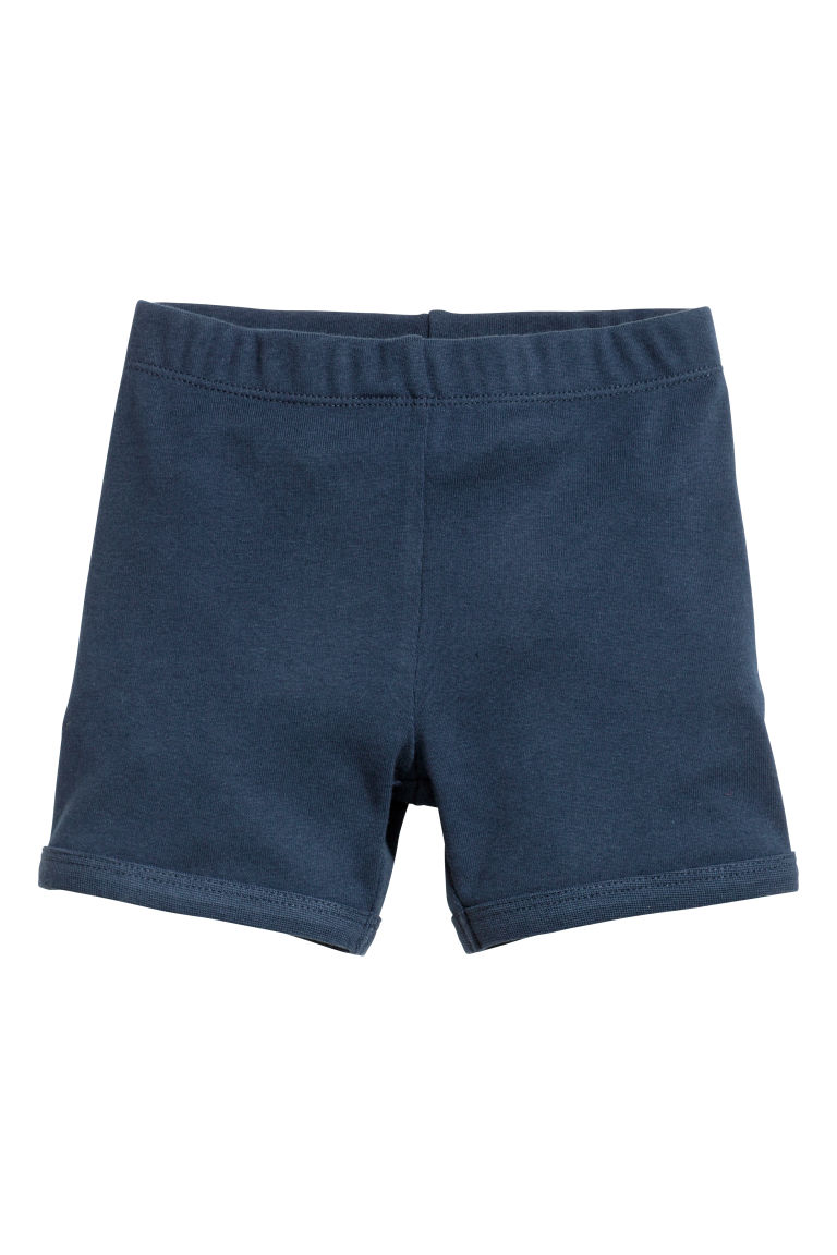 Jersey pyjamas - Dark blue/Cars - Kids | H&M