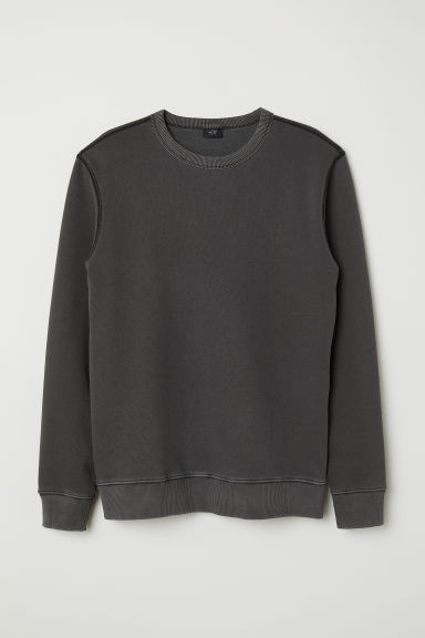 Sweater - Donkergrijs - HEREN | H&M BE