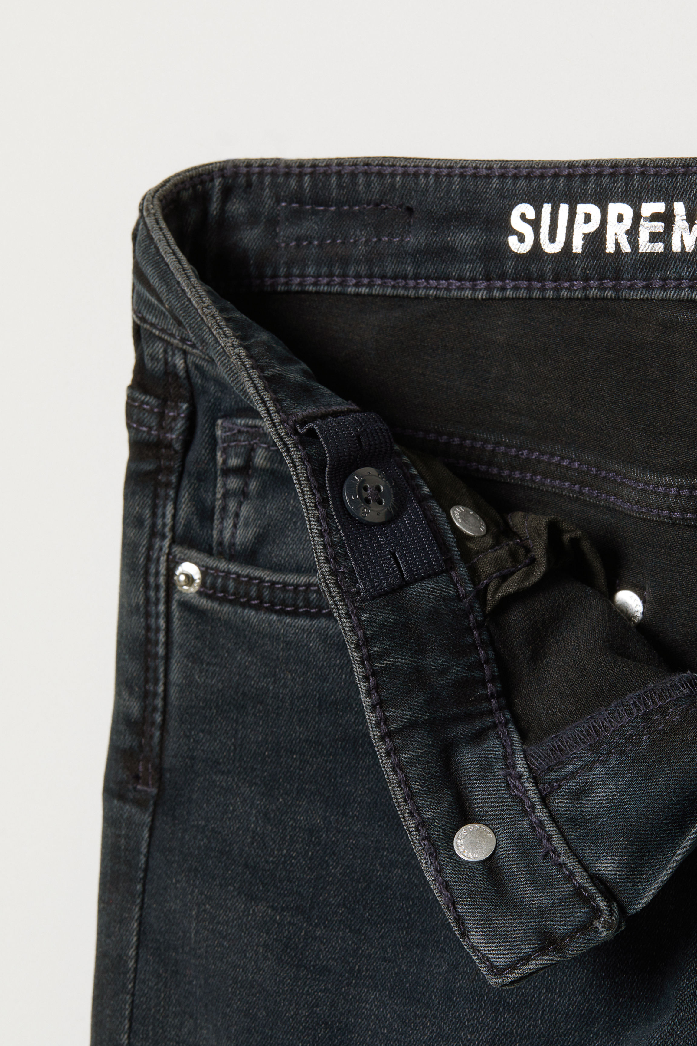 Supreme Stretch Skinny Jeans - Dark Blue - Kids | H&M US