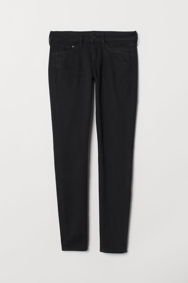 Super Skinny Low Jeans - Zwart -  | H&M BE