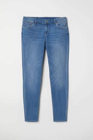 H&M+ Skinny Jeans - Light denim blue - Ladies | H&M CN