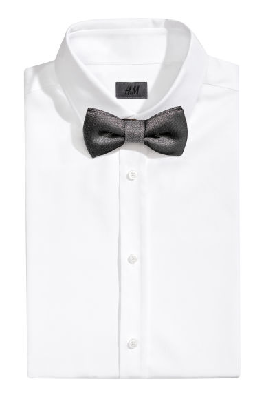 Bow tie and handkerchief - Grey/Glittery - Men | H&M GB