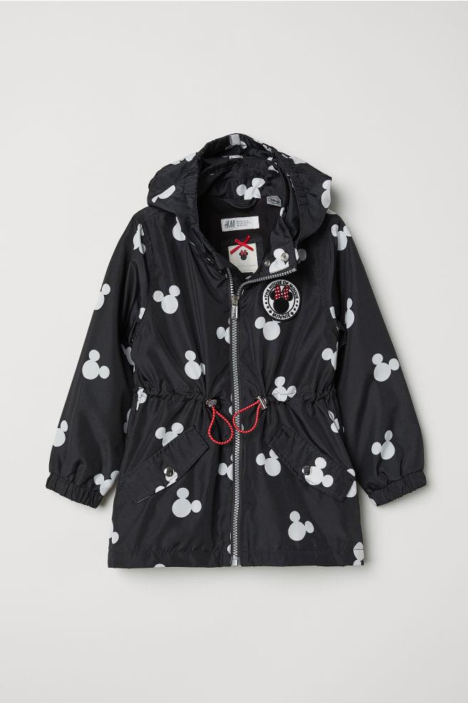 4e80acb8a645 Outdoor Jacket with Hood - Black Minnie Mouse - Kids