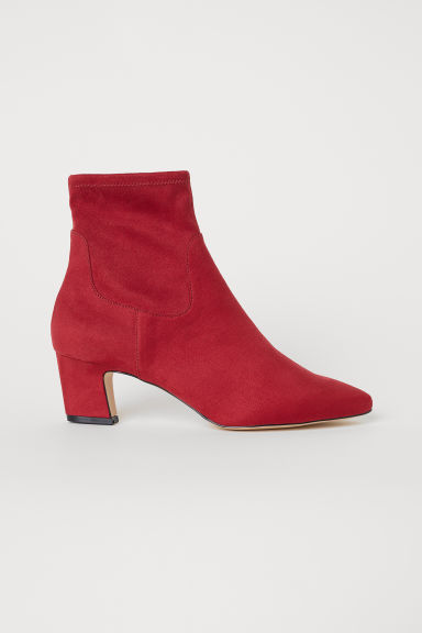 Ankle boots - Red - Ladies | H&M