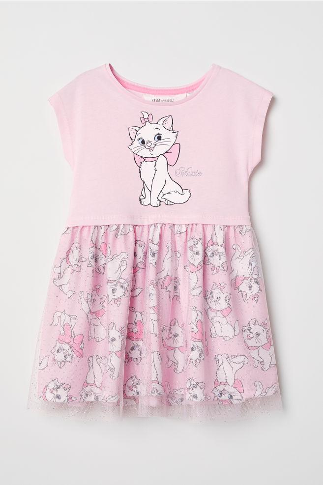 Dress with Tulle Skirt - Light pink Aristocats - Kids  0cd5edb12