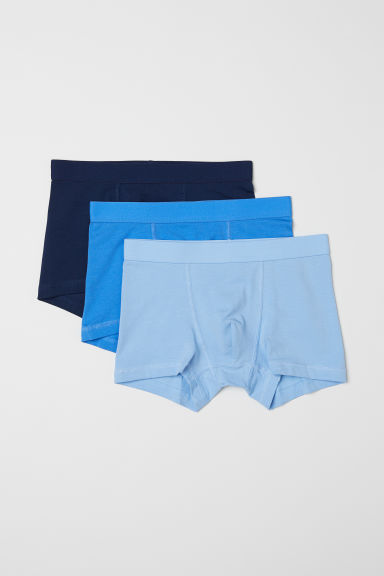 3-pack boxer shorts - Light blue - Kids | H&M CN