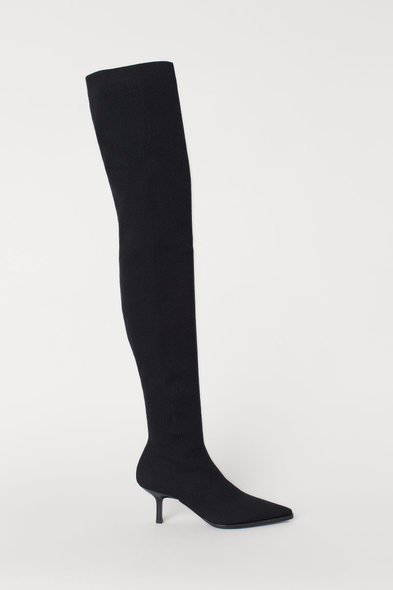 Thigh boots - Black - Ladies | H&M