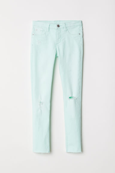 Superstretch Skinny Fit Jeans - 薄荷绿 - Kids | H&M CN