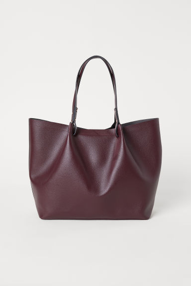 Shopper - Burgundy - Ladies | H&M