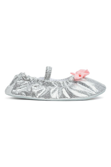Dance shoes - Silver-coloured/Glittery - Kids | H&M
